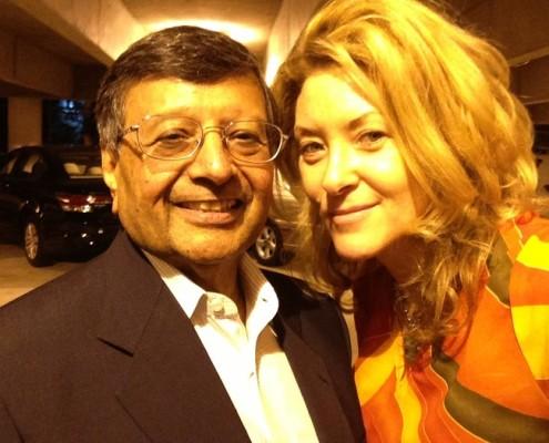 Ondi Timoner and Jagdish Sheth