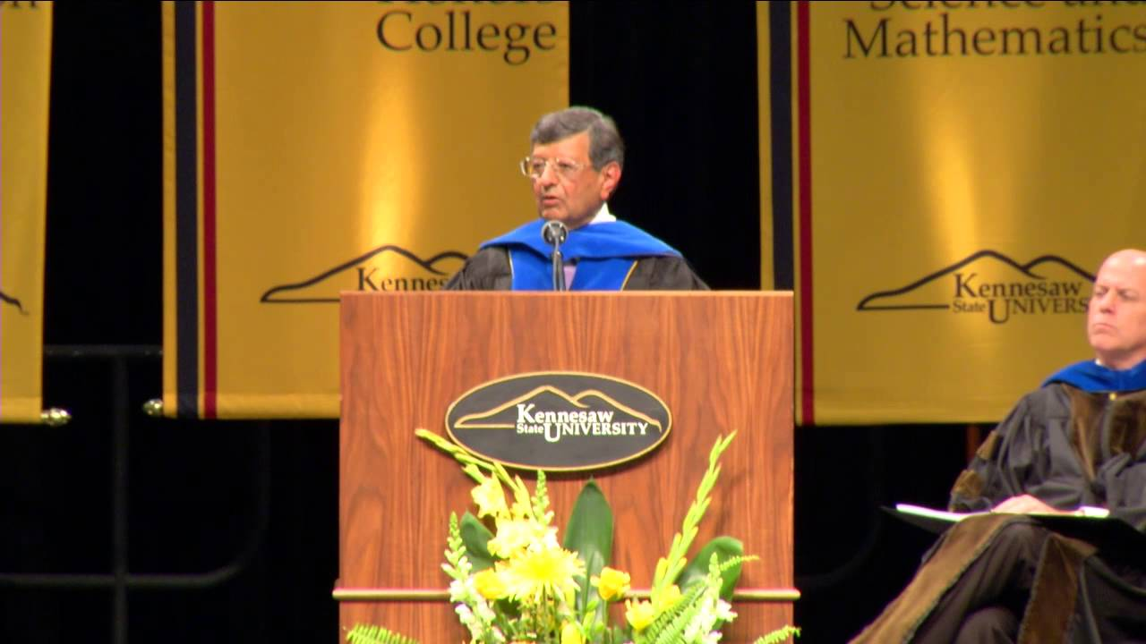 Commencement Address at Kennesaw State University