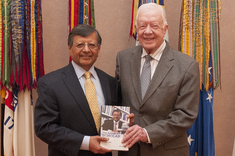 President Jimmy Carter and Dr. Sheth