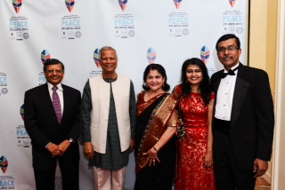 Dr. Sheth with Professor Mohammad Yunus