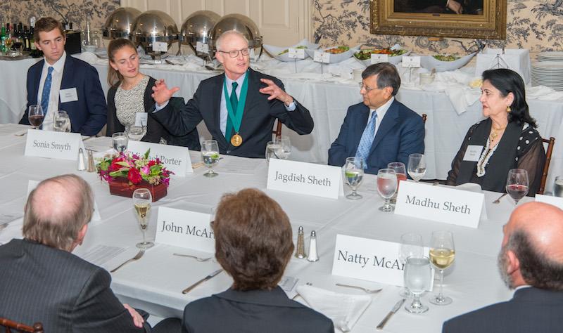 Photos from the Sheth Dinner & Awards Ceremony for Professor Porter