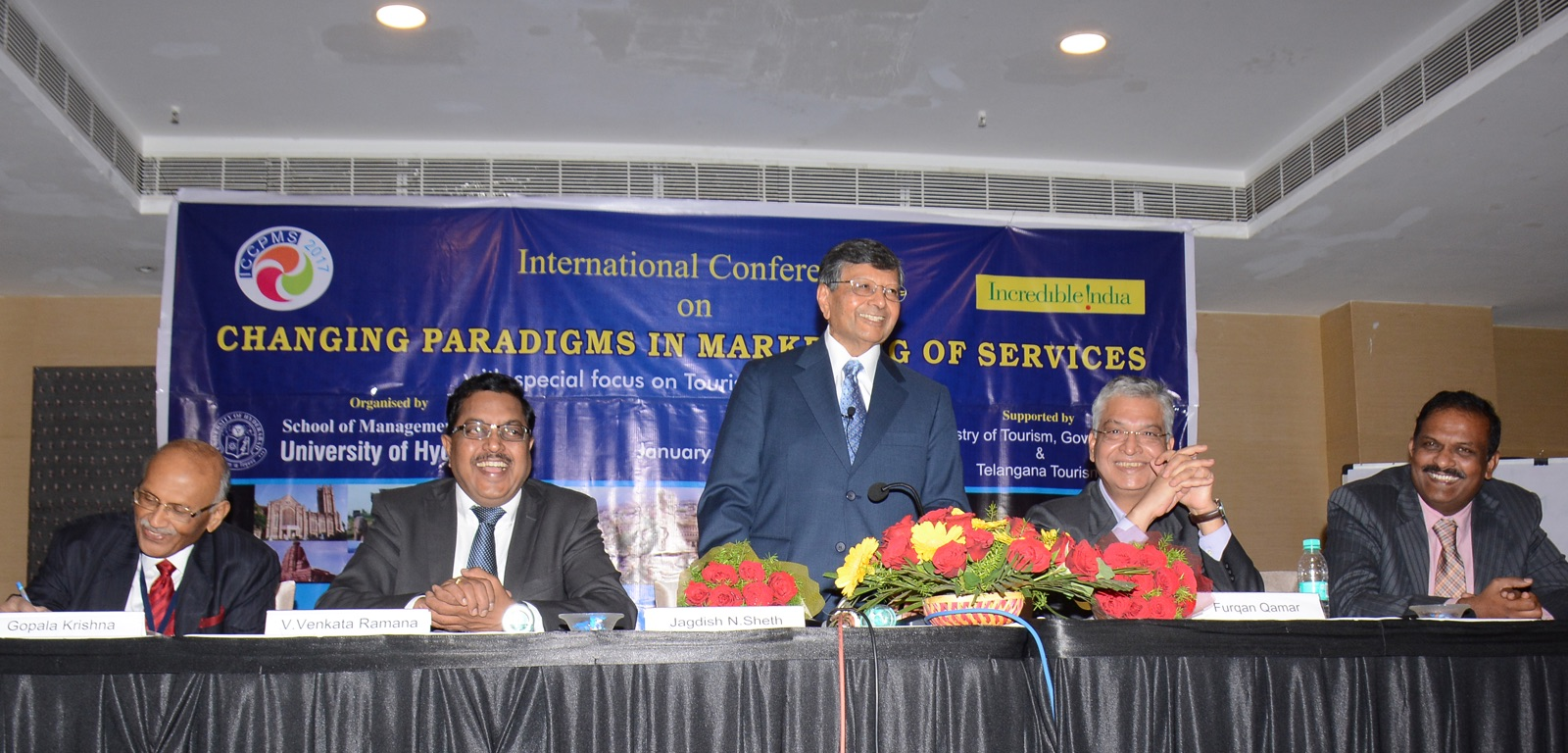 Valedictorian Speaker at the Service Excellence Conference in Hydrabad