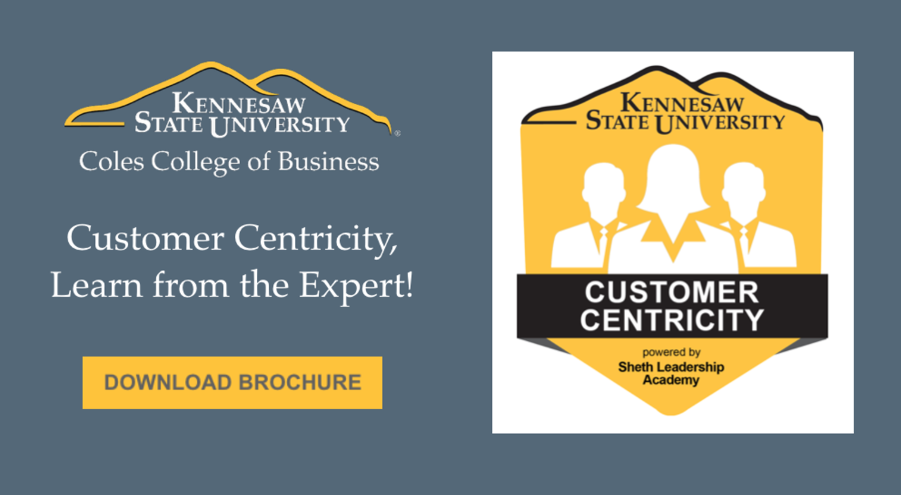 Certificate Program in Customer Centricity