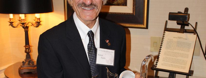 Kamal Fatehi Sheth Distinguished Faculty Award International Achievement