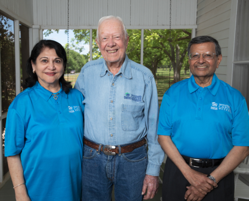 President Carter Jag Madhuri Sheth Plains