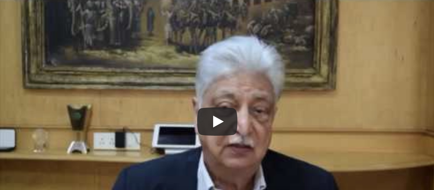 Azim Premji Wishes Dr. Jagdish Sheth a Happy 80th Birthday