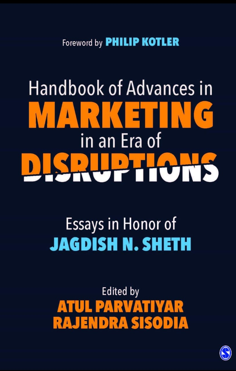 Handbook Of Advances In Marketing In An Era Of Disruptions